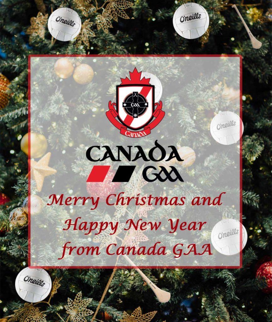 Merry Christmas From Canada GAA